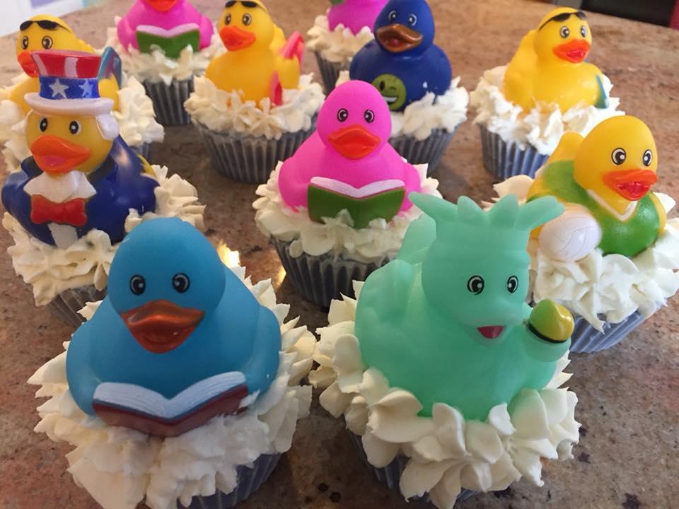 Ducky Cupcake Soap